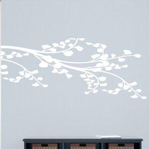 Corner Leafy Branch Wall Decal