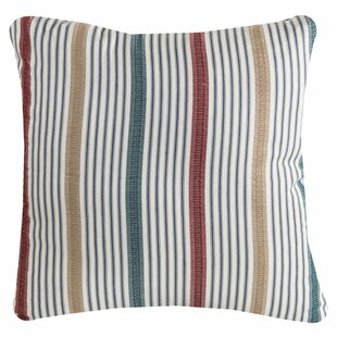Raiana Stripe Pillow Cover by Highland Dunes Wonderful