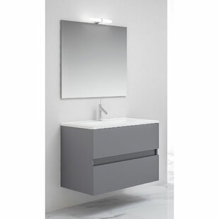 Amabile 1200mm Wall Mount Double Vanity Unit By 17 Stories