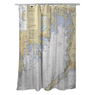 Ellisburg Buzzards Bay, MA Single Shower Curtain