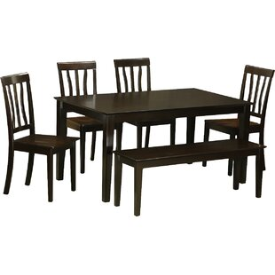 Capri 6 Piece Dining Set by Wooden Importers Spacial Price
