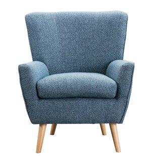 Gomes Microfiber Armchair by Corrigan Studio