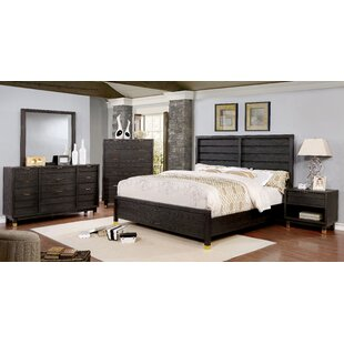 Brayden Studio Randeep Contemporary Panel Configurable Bedroom Set