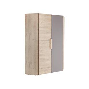 Glinda 2 Door Corner Wardrobe By Ebern Designs
