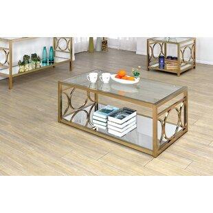 Willa Arlo Interiors Frederika 2 Piece Coffee Table Set