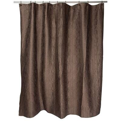 Loon Peak Anderson Leather Shower Curtain