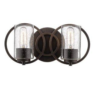 Wrought Studio Lorelai 2-Light Vanity Light