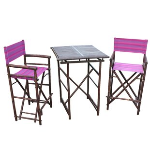 Sergios 3 Piece Bar Height Dining Set by Bay Isle Home Modern