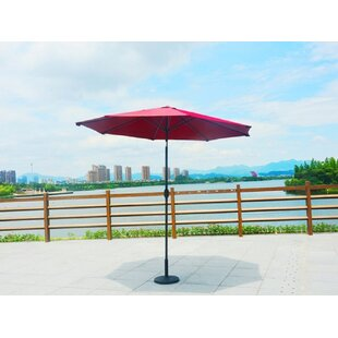 Manervia Luxury Adjustable 10' Market Umbrella