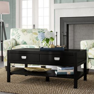 Antonina Coffee Table with Storage by Beachcrest Home