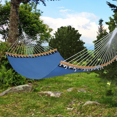 Wilmslow Portable Quick Double Spreader Bar Hammock by Longshore Tides Amazing