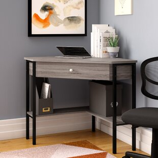 Wrought Studio Raymundo Corner Writing Desk
