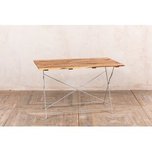 Rabia Folding Metal Dining Table By Sol 72 Outdoor