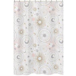 Celestial Single Shower Curtain by Sweet Jojo Designs Modern