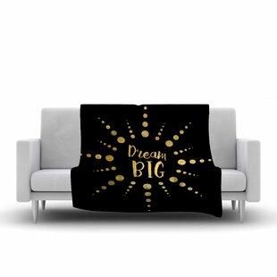 Top Reviews NL Designs Dream Big Fleece Blanket ByEast Urban Home