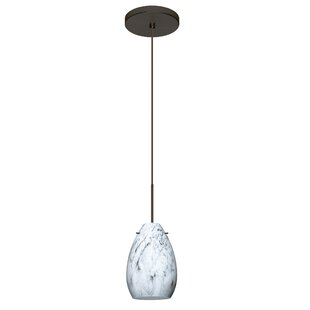Besa Lighting Pera 1 Integrated Bulb Mini Pendant