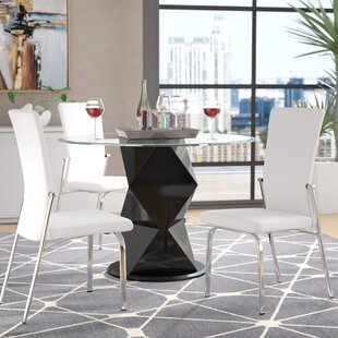 Sinegal Upholstered Dining Chair (Set of 2) Wrought Studio