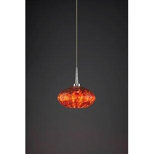 Bruck Lighting Pandora 1-Light Globe Pendant