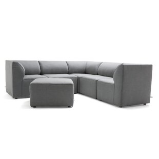 Comfort Research Big Joe Patio Sectional with Cushions