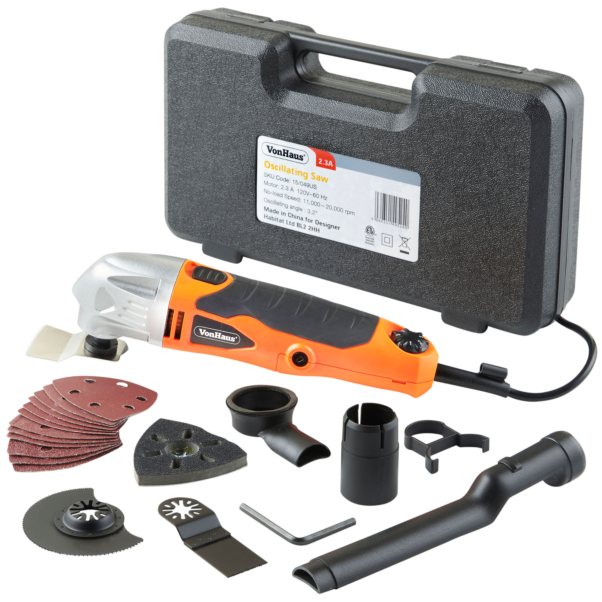 VonHaus Multi Purpose Oscillating Tool | Wayfair