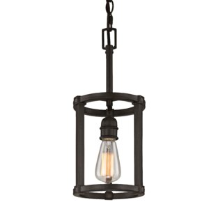 Affordable Jeromy 1-Light Cylinder Pendant By Williston Forge