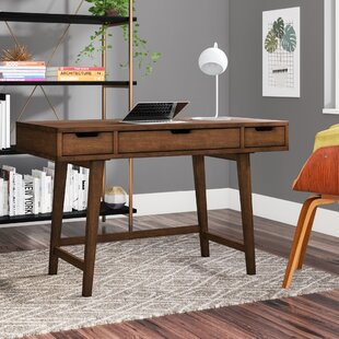 Sverre Solid Wood Writing Desk by Langley Street Fresh