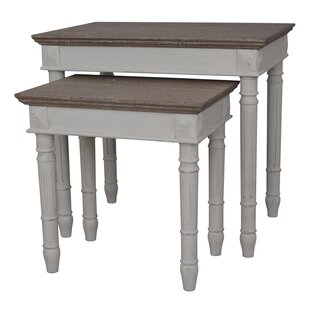 Top Reviews Madison 2 Piece Nesting Tables By August Grove