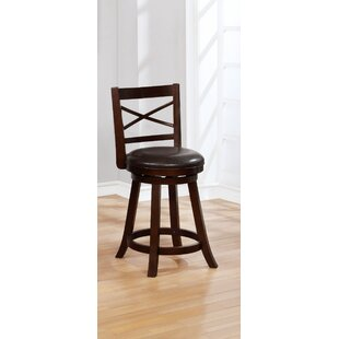 Yorba Swivel Bar Stool (Set of 2)