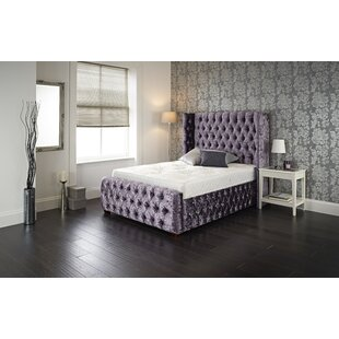 Rohan Upholstered Bed Frame By Willa Arlo Interiors