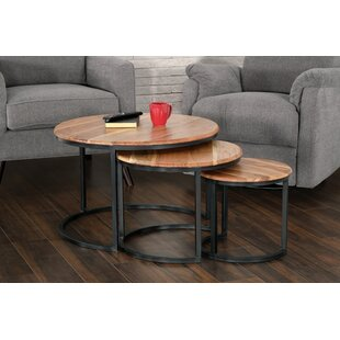 Beshears 3 Piece Nesting Tables by Foundr..