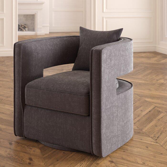 Stupendous Beahm Swivel Barrel Chair Beatyapartments Chair Design Images Beatyapartmentscom