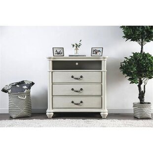 Zebediah 4 Drawer Media Chest