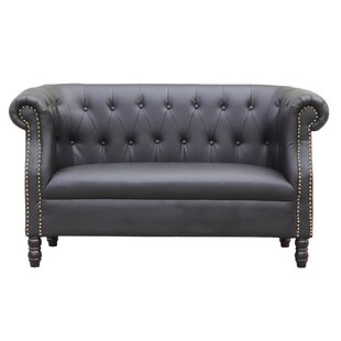 Chester Chesterfield Loveseat by Fine Mod Imports
