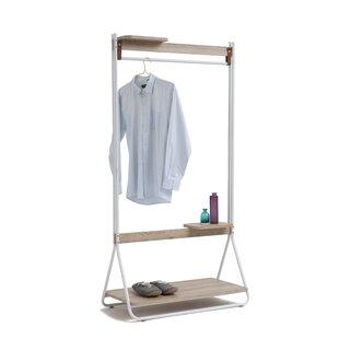 Stretford 91cm Wide Clothes Rack By Ebern Designs