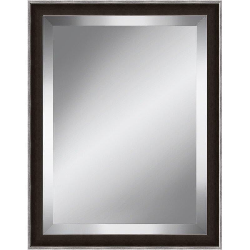 Orren Ellis 2 Frame Beveled Plate Accent Mirror Reviews Wayfair