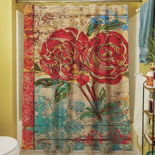 Check Prices Valencia II Shower Curtain ByManual Woodworkers & Weavers
