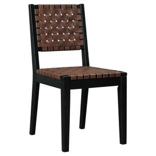 Loon Peak McLaurin Solid Wood Dining Chair (Set of 2)