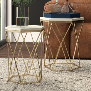 Affordable Malpass 2 Piece Nesting Tables by Mercury Row