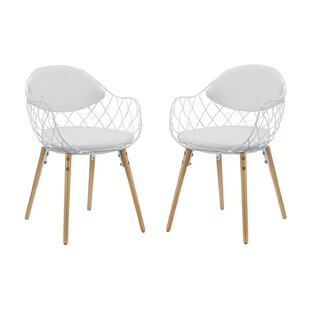 Zaniyah Contemporary Arm Chair (Set of 2)