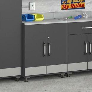 Boss 41 H x 29.7 W x 19.7 D 2-Door Storage Cabinet by Altra Furniture