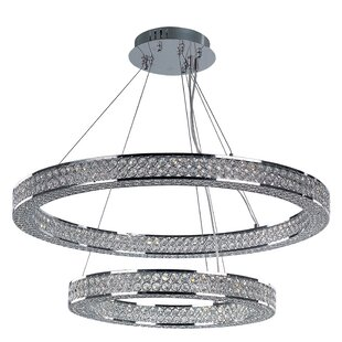 Ambrose 1-Light Foyer Pendant by House of Hampton