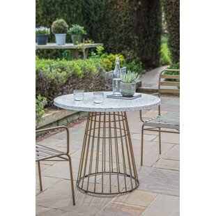 Renteria Metal Bistro Table By Canora Grey
