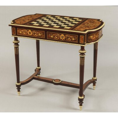 """40"""" Chess Table in Rectangle Infinity Furniture Import"""