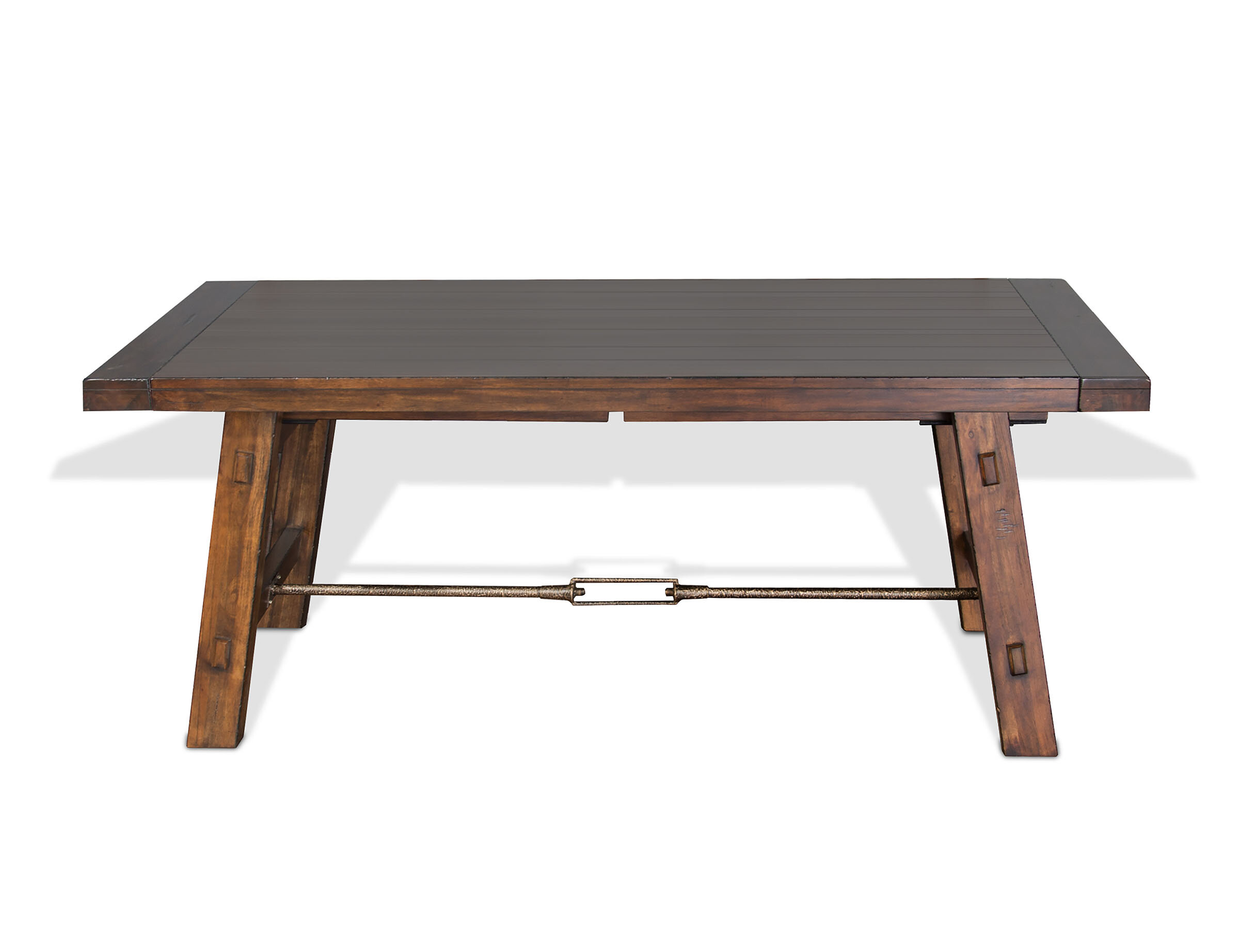 8ff3d49e9a3f Hardin Extendable Solid Wood Dining Table   Reviews