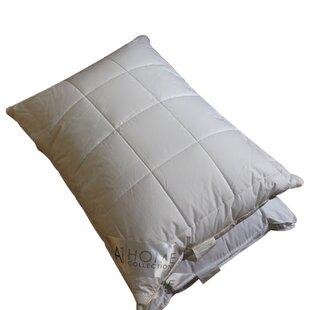 A1 Home Collections LLC Box Microfiber Down Alternative Queen Pillow (Set of 2)