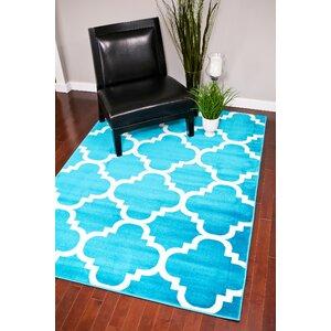 Turquoise Indoor/Outdoor Area Rug