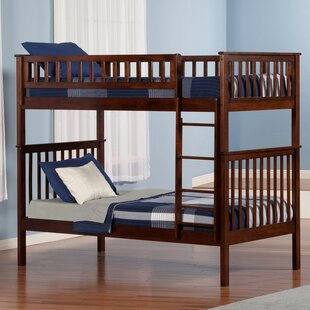 Price comparison Shyann Twin over Twin Bunk Bed ByViv + Rae