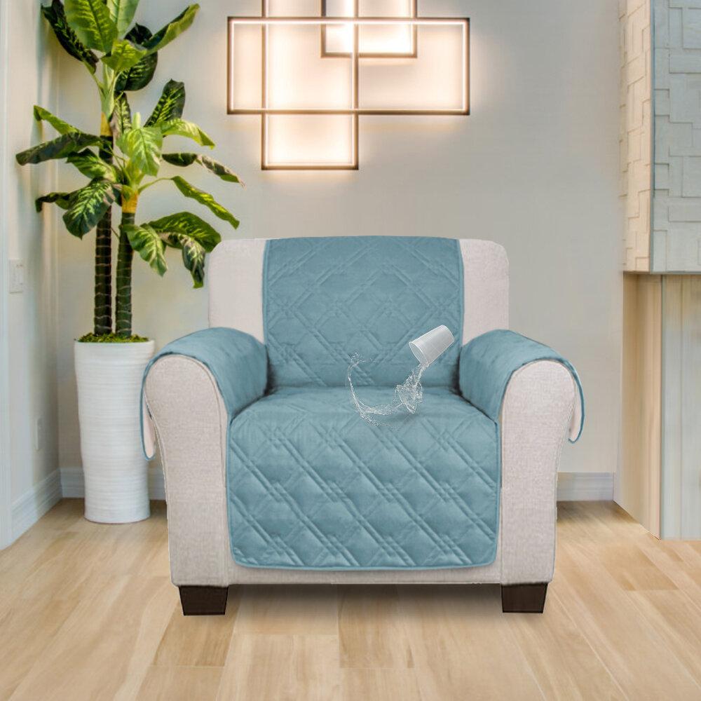 Red Barrel Studio Box Cushion Recliner Slipcover Wayfair