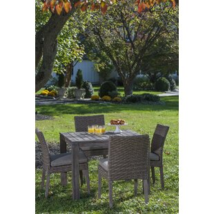 Gracie Oaks Nishant 5 Piece Dining Set wi..