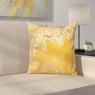 Japanese Cherry Blossom Sakura Cushion Pillow Cover